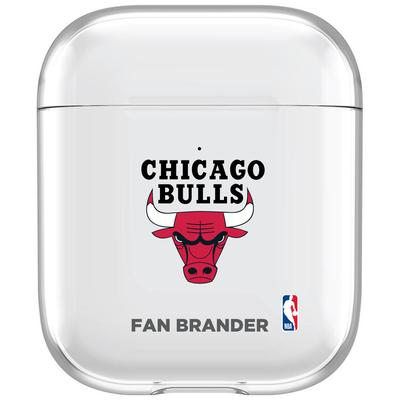"""Chicago Bulls Clear Air Pods Case"""