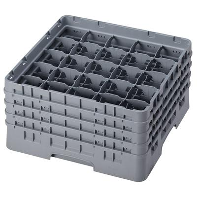 Cambro 25S800151 Camrack Glass Rack - (4)Extenders, 25 Compartment, Soft Gray on Sale