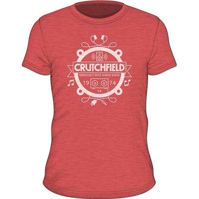 SS Crutchfield Camp Red XS Short- Sleeved Camp T-shirt Red XS