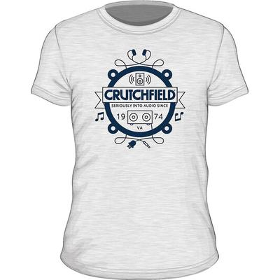 SS Crutchfield Camp White XXXL Short- Sleeved Camp T-shirt White XXXL