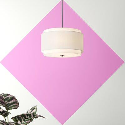 Hashtag Home Edwin 3 Light Unique Statement Drum Chandelier Metal In White Size 48 H X 20 W X 20 D Wayfair Ebnd5002 39987743 On Wayfair Accuweather Shop