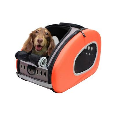 ibiyaya - ibiyaya 5-in-1 Combo EVA Airline-Approved Dog & Cat Carrier & Stroller, Orange