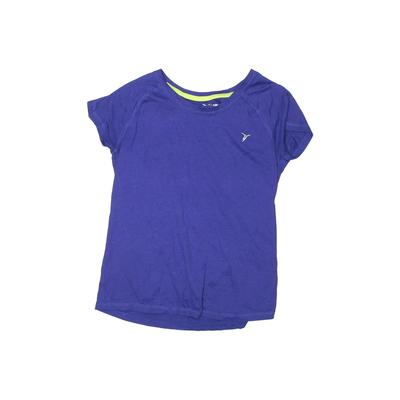 Active by Old Navy Active T-Shirt: Purple Solid Sporting & Activewear - Size 14
