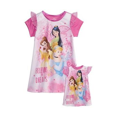 AME Assorted Toddler Girl Princess Doll & Dorm Gown