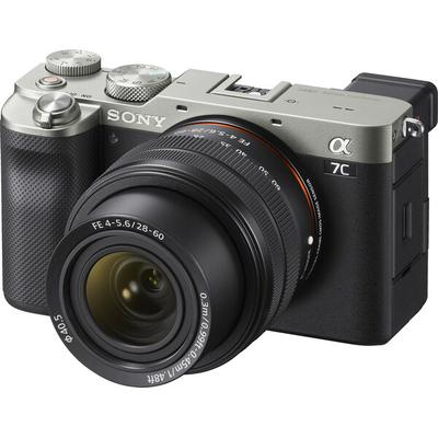 Sony Alpha 7C Full Frame Mirrorless with 28-60mm Lens- Silver