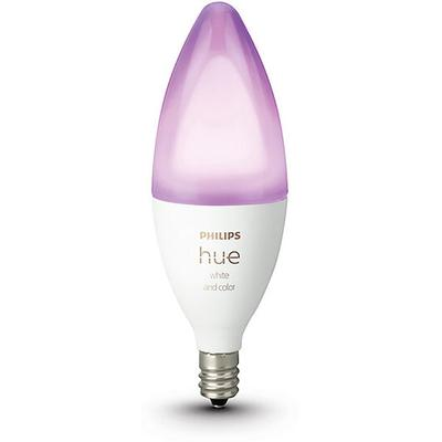 Philips Hue White and Color Candelabra Bulb