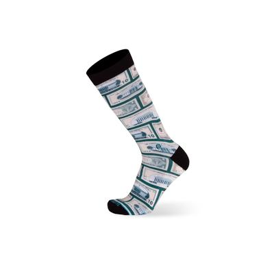 Men's The Success Socks by TallOrder in Green (12-15)