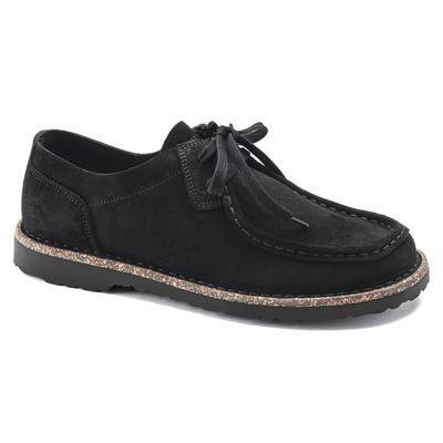 BIRKENSTOCK Pasadena Men III Suede Leather Black Low Shoes