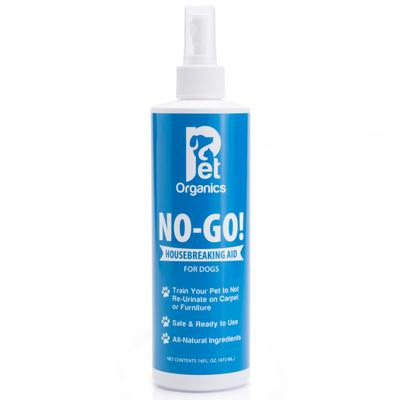 No-Go! Housebreaking Aid is a specially formulated blend of herbal extracts that, when sprayed on a previously soiled area, will help stop pets from re-urinating in that area.Safe: No harsh chemicalsEffective: Lasts up to one week or longerMild: No...