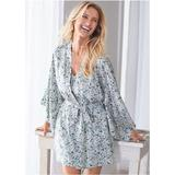 Silk Sleep Kimono Pajamas & Sleep - Neutral/Multi