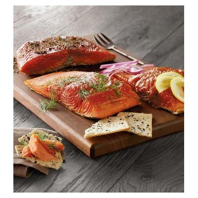 Wild Alaskan Smoked Salmon Trio - Gift Baskets & Fruit Baskets - Harry and David
