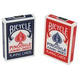 Bicycle Pinochle Jumbo Font Playing Cards