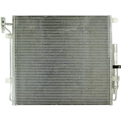 2005-2009 Land Rover LR3 A/C Condenser - Action Crash CNDDPI3581