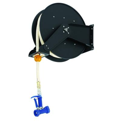 T&S B-7245-06 Hose Reel, Open, Epoxy Coated Steel, 50 ft, Front Trigger Water Gun on Sale