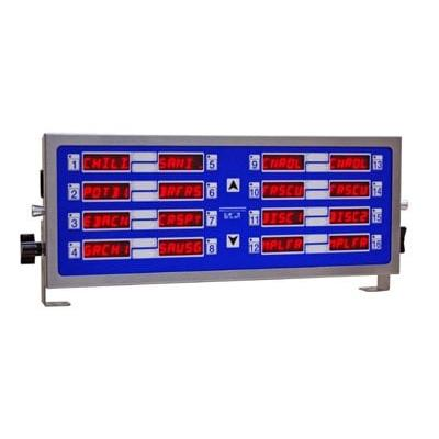Prince Castle 755-HM16 Electric Horizontal Timer, 16 Channel, Multi-Function, 240v/1ph