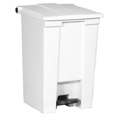 Rubbermaid FG614400WHT 12 gal Step-On Container - White on Sale