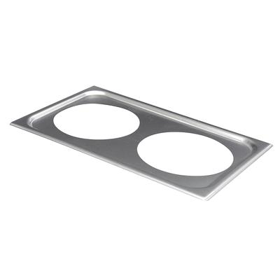 Vollrath 19192 Adaptor Plate - (2) 8 3/8 Inset Holes