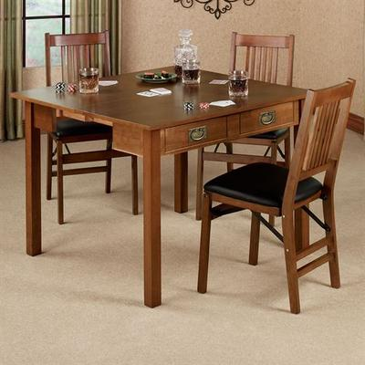Mission Convertible Table Fruitwood , Fruitwood