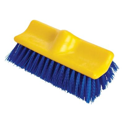 Rubbermaid FG633700BLUE 10 Floor Scrub Brush - Poly Blue on Sale