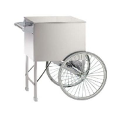 Gold Medal 2015ST Popcorn Cart w/ 2 Spoke Wheels, Stainless, 38 x 27 on Sale