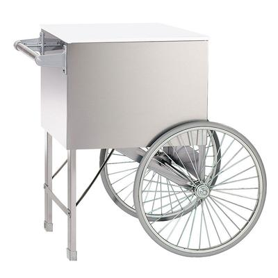 Gold Medal 2148ST 20 Steerable Cart w/ 2 Spoke Wheels, Stainless on Sale