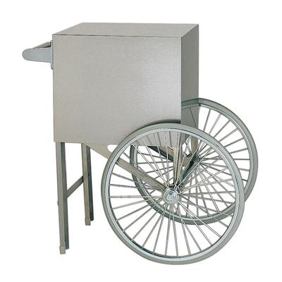 Gold Medal 2659ST Popcorn Cart w/ 2 Spoke Wheels, Stainless on Sale