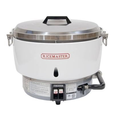 Town RM55PR 55 Cup Commercial Rice Cooker, Steel Handles, Aluminum Exterior, LP on Sale