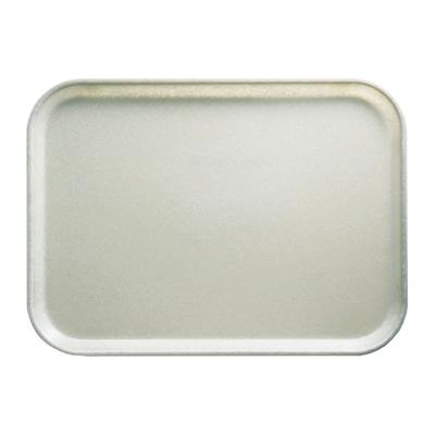 Cambro 1014101 Fiberglass Camtray Cafeteria Tray - 13.75L x 10.6W, Antique Parchment on Sale