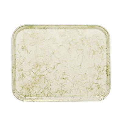 Cambro 1014526 Fiberglass Camtray Cafeteria Tray - 13.75L x 10.6W, Galaxy Antique Parchment Gold on Sale