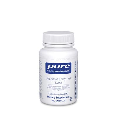 Pure Encapsulations Metabolic Support - Digestive Enzymes Ultra - 180