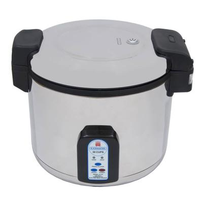 Town 57131 30 Cup Electric Rice Cooker, One Touch, Stainless Exterior, 230v on Sale