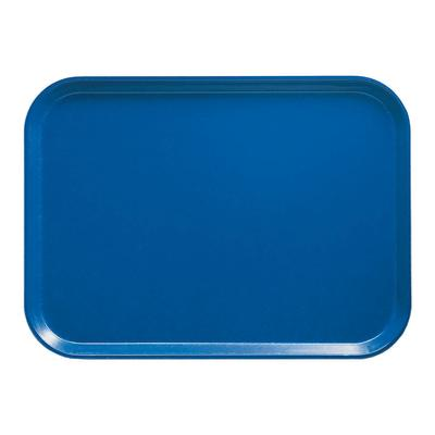 Cambro 1318123 Fiberglass Camtray Cafeteria Tray - 17.75L x 12.6W, Amazon Blue on Sale