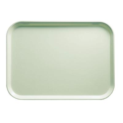 Cambro 1318429 Fiberglass Camtray Cafeteria Tray - 17.75L x 12.6W, Key Lime on Sale