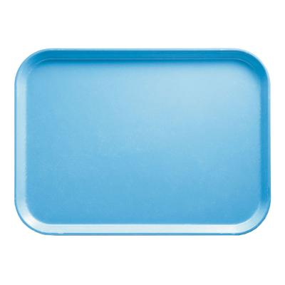 Cambro 1318518 Fiberglass Camtray Cafeteria Tray - 17.75L x 12.6W, Robin Egg Blue on Sale