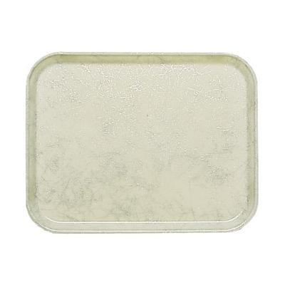 Cambro 1318531 Fiberglass Camtray Cafeteria Tray - 17.75L x 12.6W, Galaxy Antique Parchment Silver on Sale