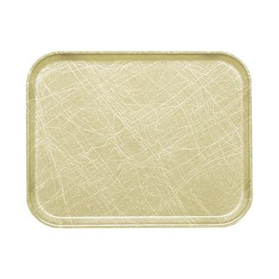 Cambro 1418214 Fiberglass Camtray Cafeteria Tray - 18L x 14W, Abstract Tan on Sale