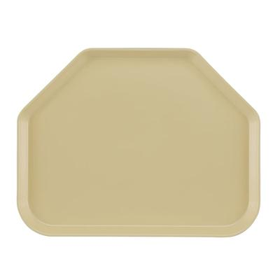 Cambro 1418TR537 Fiberglass Camtray Cafeteria Tray - 18L x 14W, Cameo Yellow on Sale