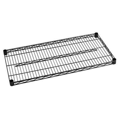 Focus FF2460BK Epoxy Coated Wire Shelf - 60W x 24D on Sale