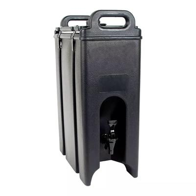 Cambro 500LCD110 5 gal Camtainer Insulated Beverage Dispenser, Black on Sale