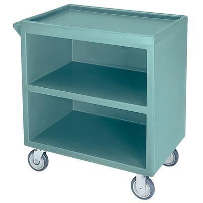 Cambro BC330401 33.13L Polymer Bus Cart w/ (3) Levels, Shelves, Blue on Sale