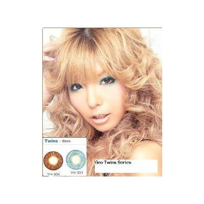 SB: Colored contact Lens Authentic Korean GEO Twin Circle lens Series  Colored contact lenses, GEO Twin Cosmetic Color contact lenses series emphasize the eyes making them brighter and more appealing
