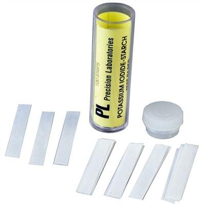 Brownells Neutralizing Kit For Oxynate 7 & 84 Bluing Salts - Start Test Strips