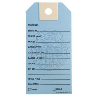 Brownells Gun Price Tags - 1000 Brownells Gun Price Tags, Light Blue