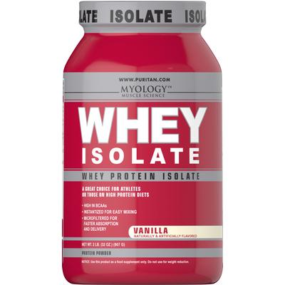 Myology Whey Protein Isolate Vanilla-2 lbs Powder