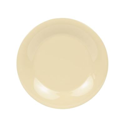 GET WP-9-SQ 9 Round Dinner Plate, Melamine, Squash on Sale