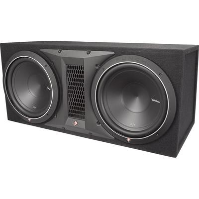 "Rockford Fosgate Punch P1-2X12 Dual 12"" Loaded Enclosure"