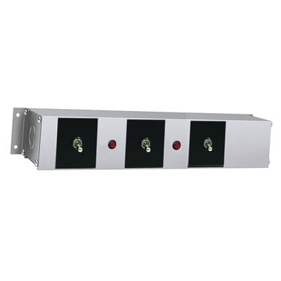 Hatco RMB-14AG Remote Control Enclosure w/ (3) Toggle Switches & (2) Indicator Lights for 208v on Sale