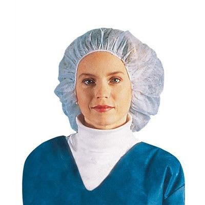 Chef Revival BCAP110CW 24 Bouffant Hair Net - Polypropylene, White on Sale