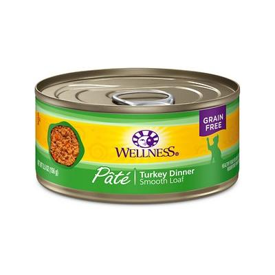 Wellness Complete Health Turkey Formula Grain-Free Canned Cat Food, 5.5-oz, case of 24