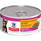 Hill's Science Diet Small & Toy Breed Puppy Chicken & Barley Entree Canned Dog Food, 5.8-oz, 24ct